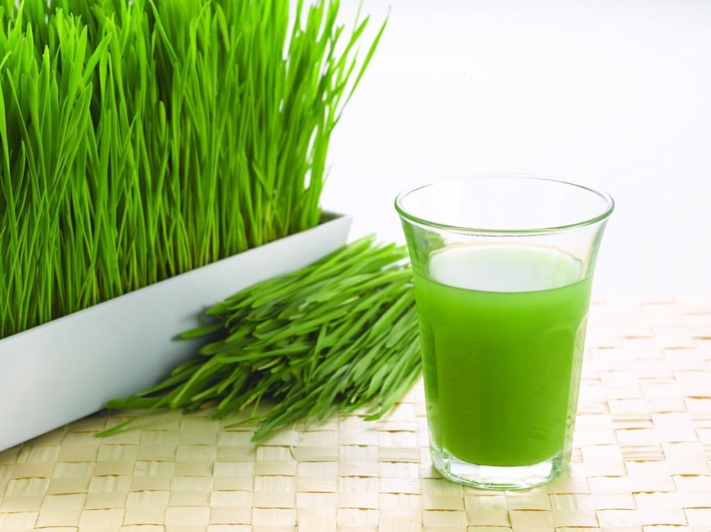 sok od zelenog zita