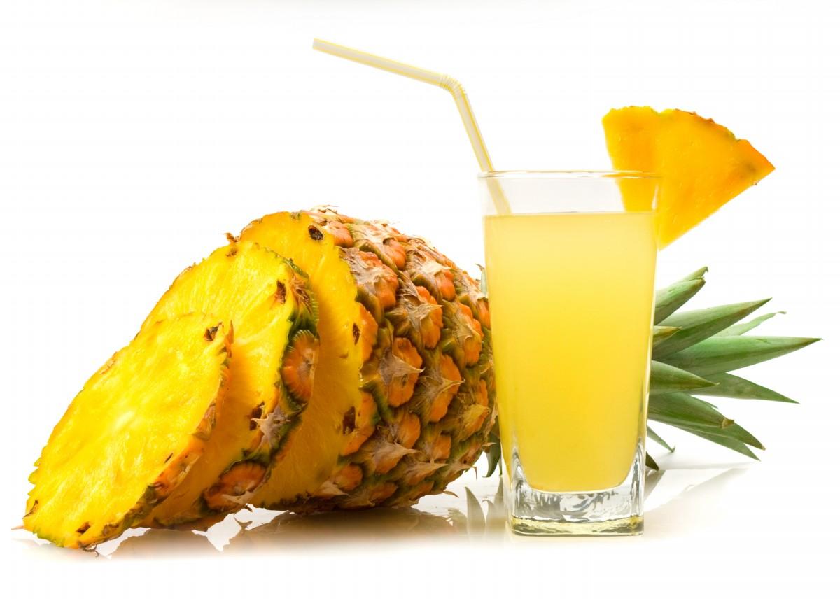 sok od ananasa recept