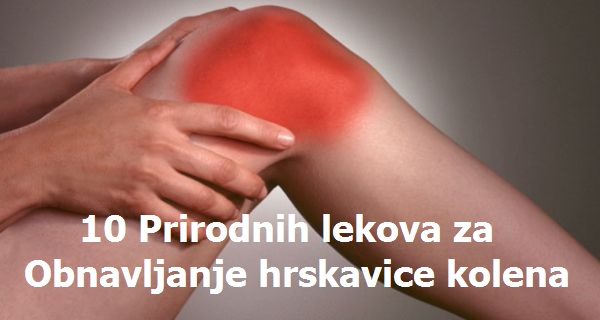 10 Prirodnih lekova za obnavljanje hrskavice kolena