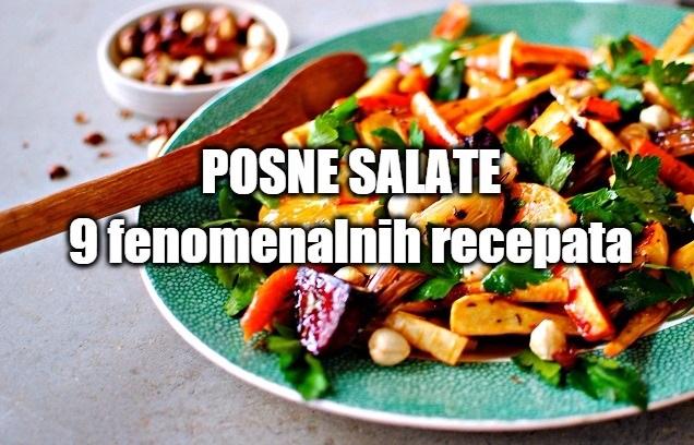 Posne salate recepti